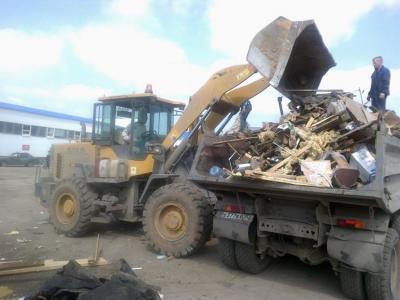 Вывоз мусора Томск. Вывоз строительного мусора, стоимость.